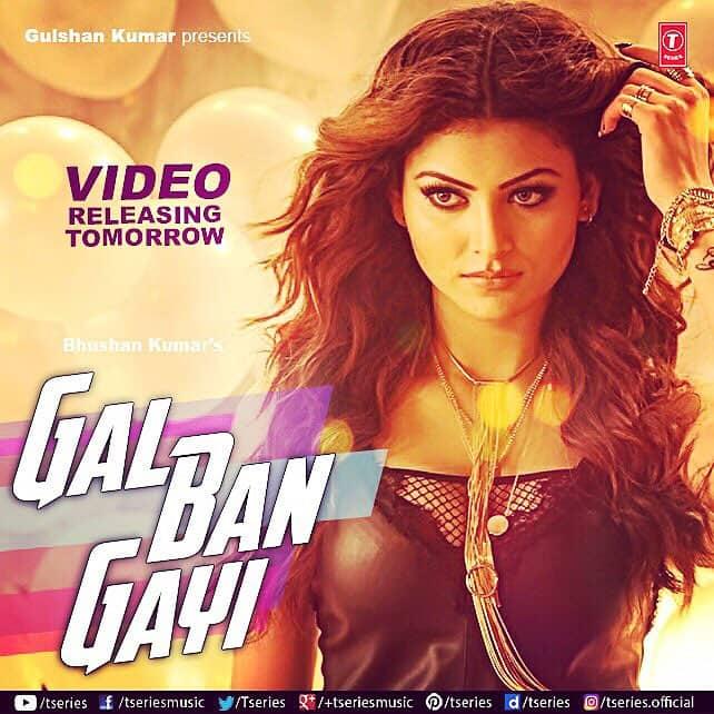 #GalBanGayi #Releases #Tommorow !!! #Excited !! #vidyutjammwal @yyhsofficial @sukhbir_singer @nehakakkar - Twitter@URautelaForever