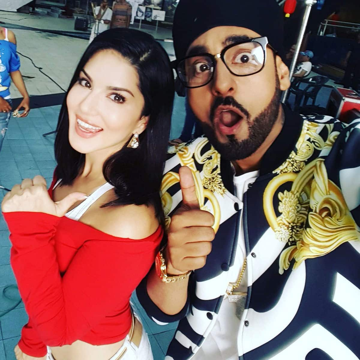 Oh my god is the beauty @SunnyLeone