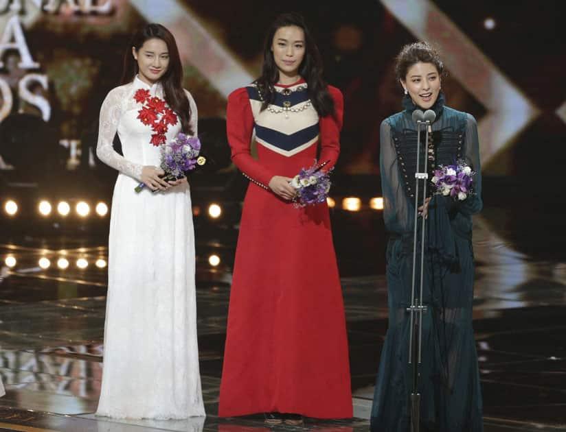 Nha Phuong Tran, Mina Fujii, Rebecca Lim
