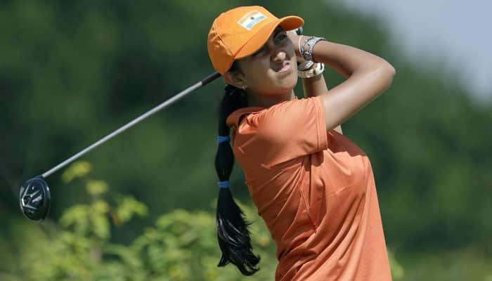Poor start by Aditi Ashok at Ladies European Masters