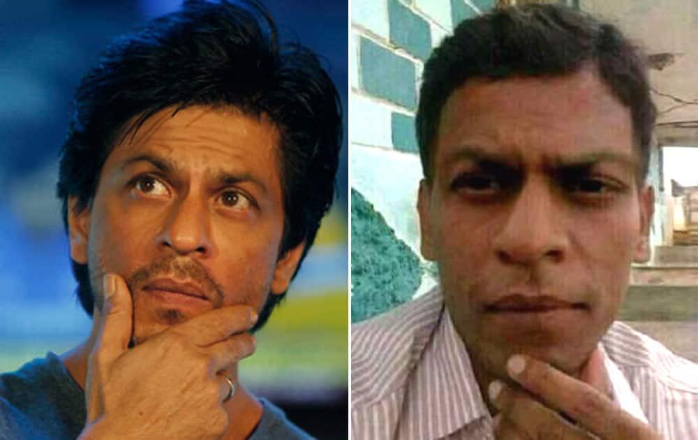 Shah Rukh Khan and Samosa Seller