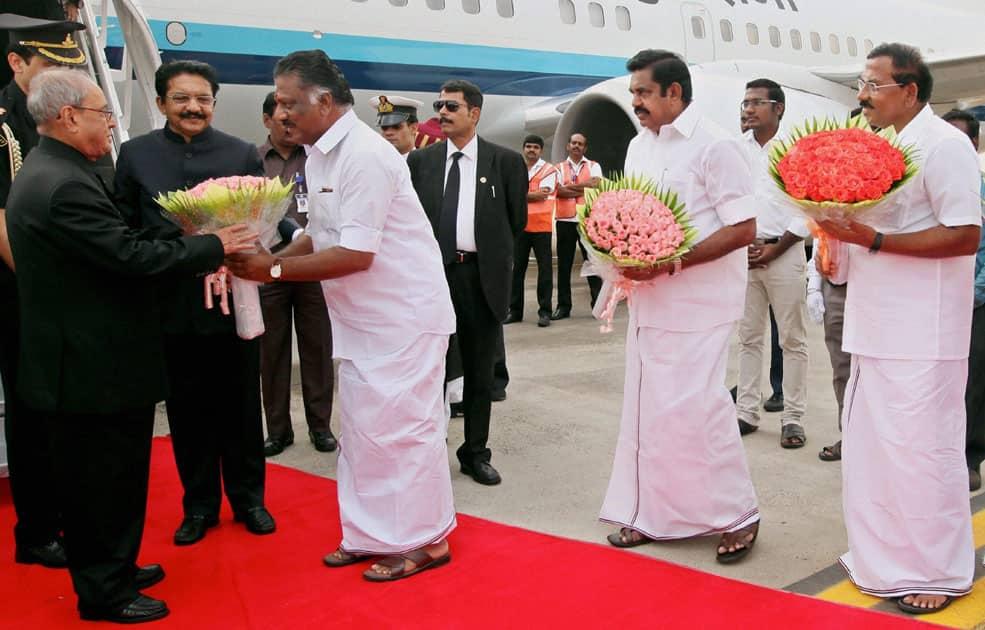 President in Chennai
