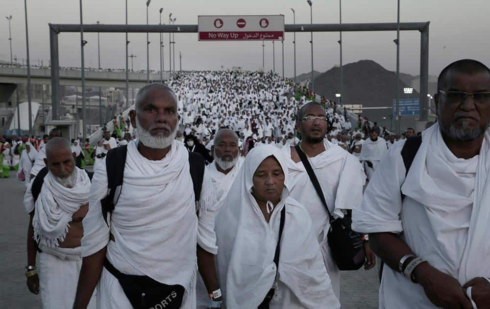 Muslim pilgrims