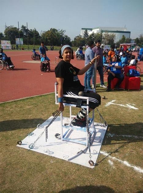 Deepa won the Arjuna Award