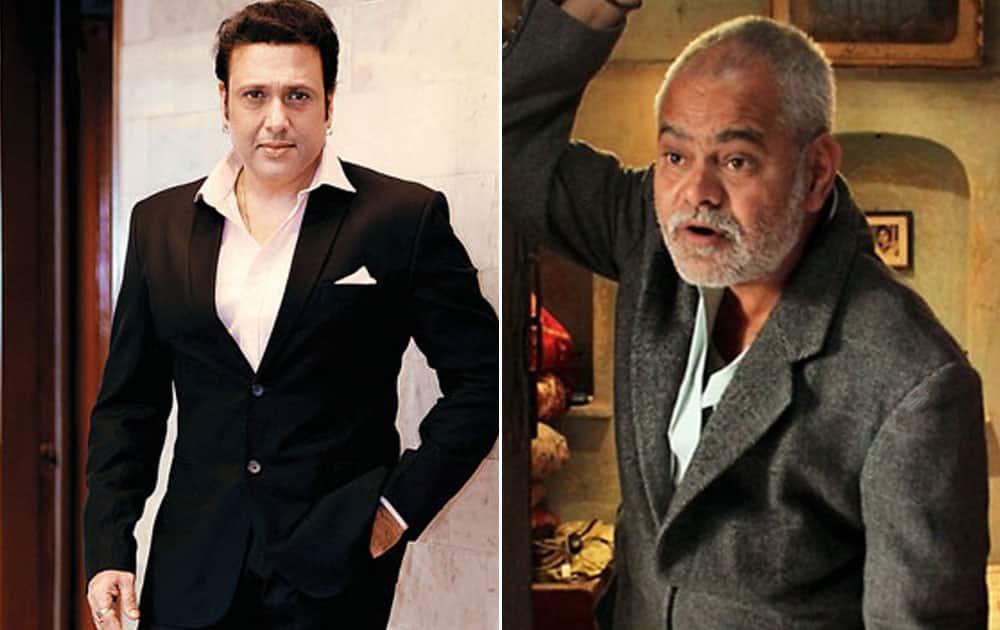 Govinda and Sanjay Mishra