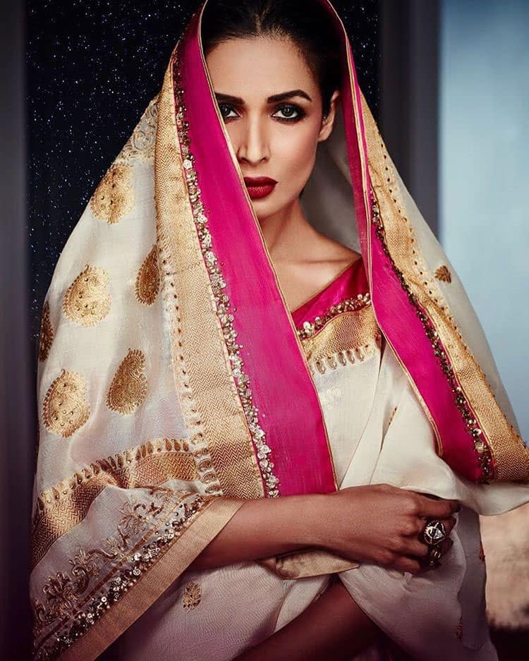 malaika arora khan :- I have been lucky to shoot for some amazing campaigns with amazingly talented people.but there's something very special bout my @satyapaulindia campaign .love love it