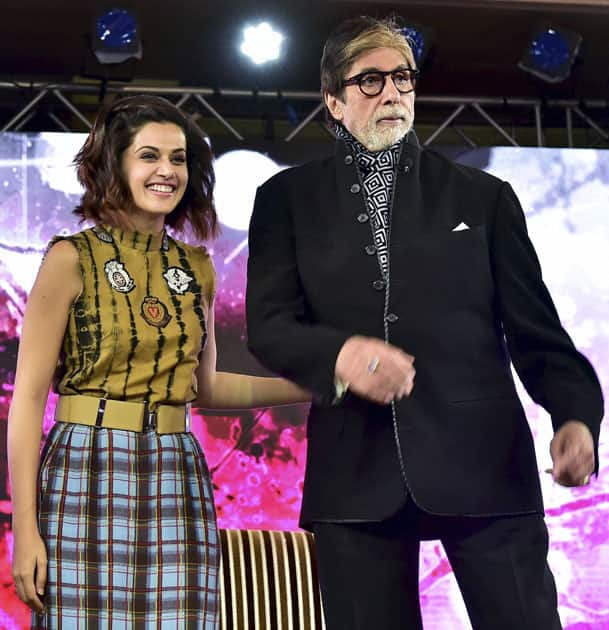 Amitabh at conclave
