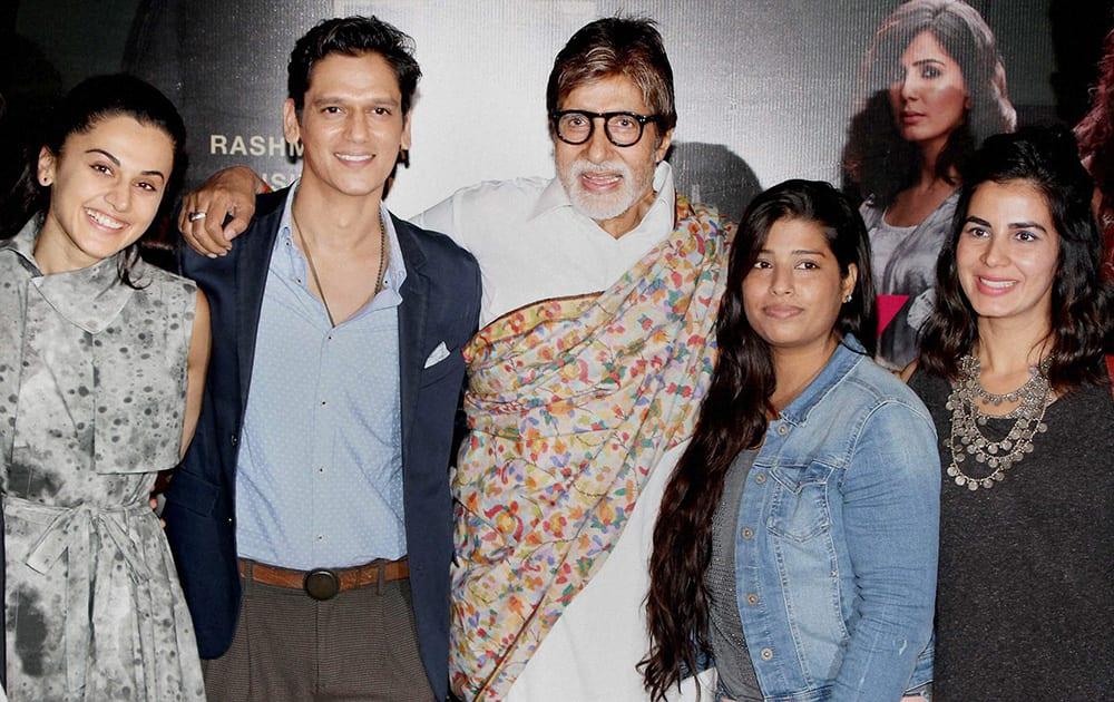 Bollywood actors Amitabh Bachchan