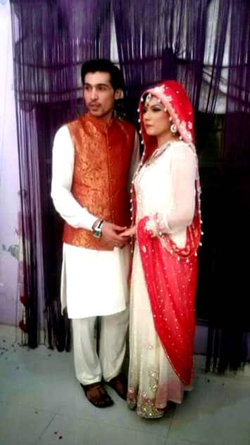 mohammad Amir and Narjis