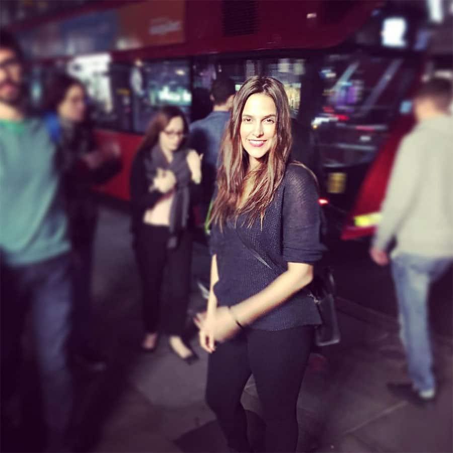 neha dhupia :- #london