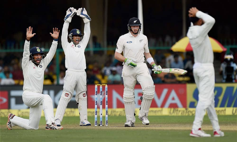 Indians appeal against Martin Guptill