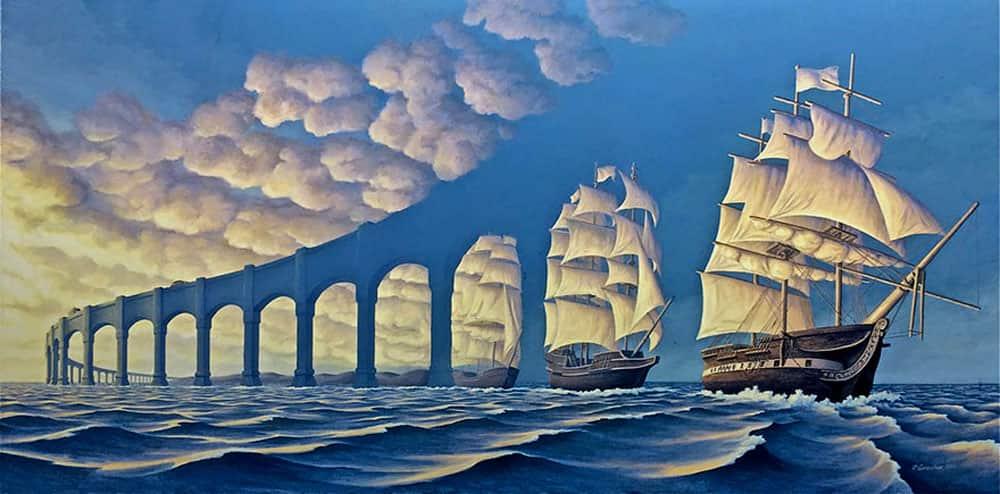A Bridge Of Boats