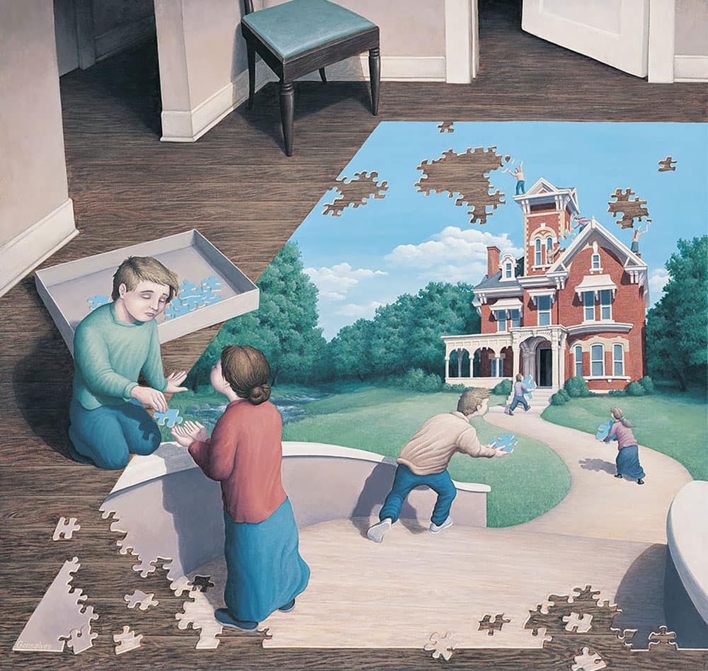 A Puzzle Or Living Room