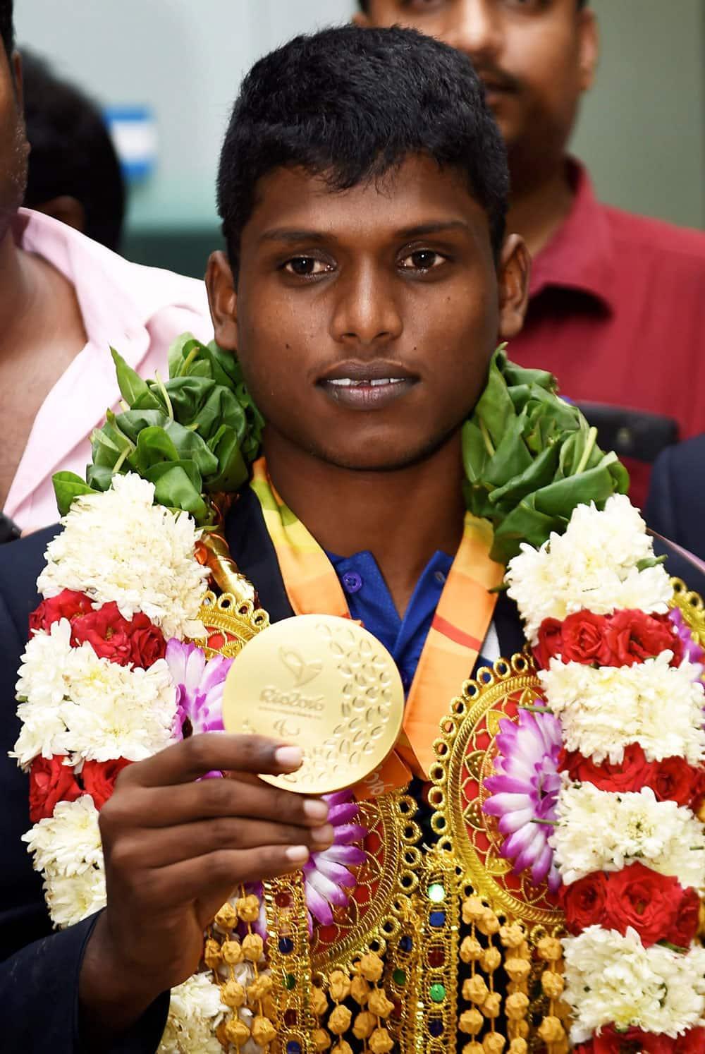 Thangavelu Mariyappan who won the gold