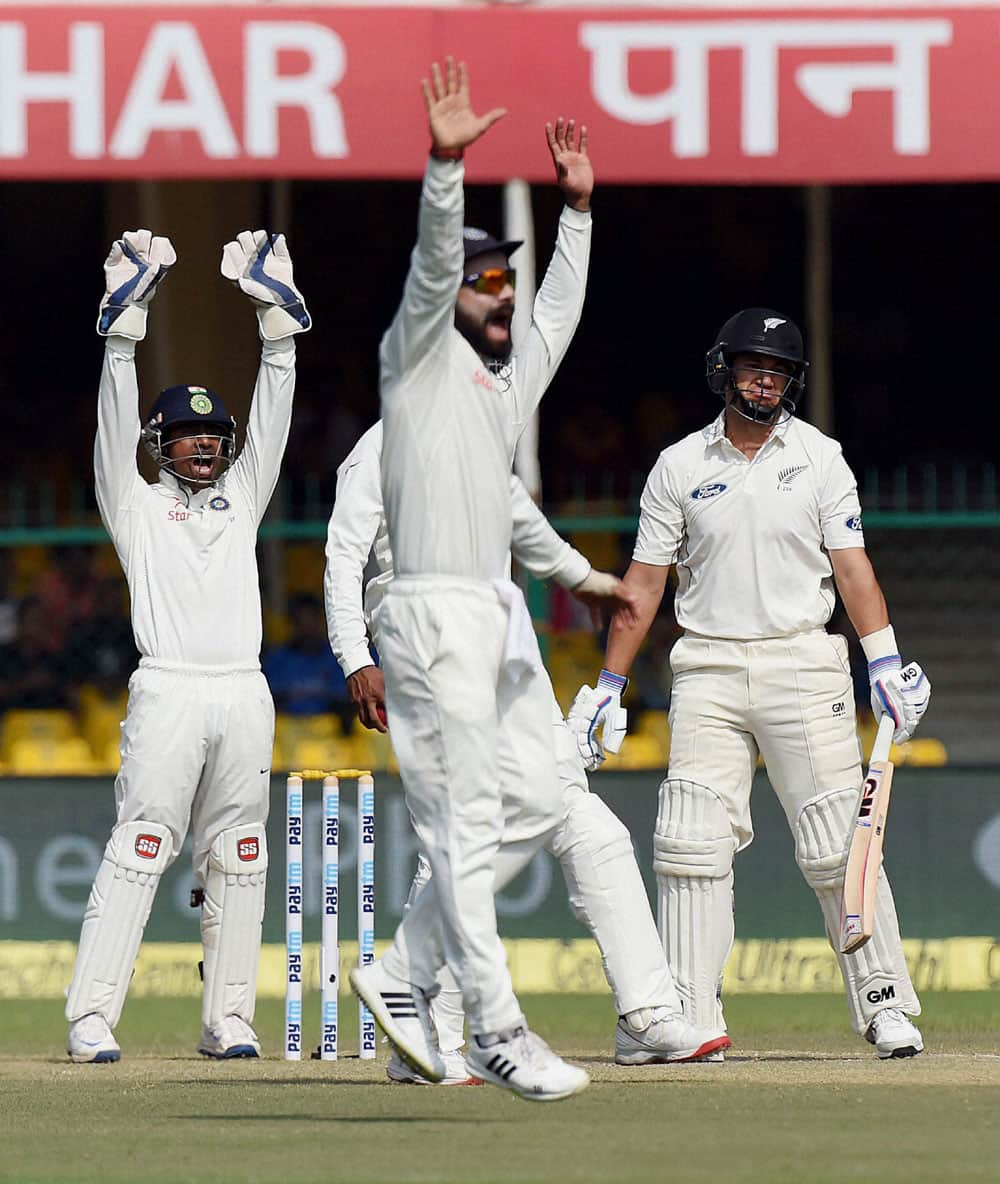 India Vs New Zealand test match in Kanpur