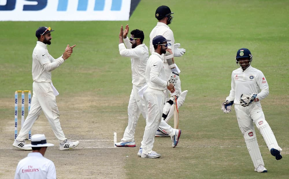 Ind vs NZ First Test Day 3