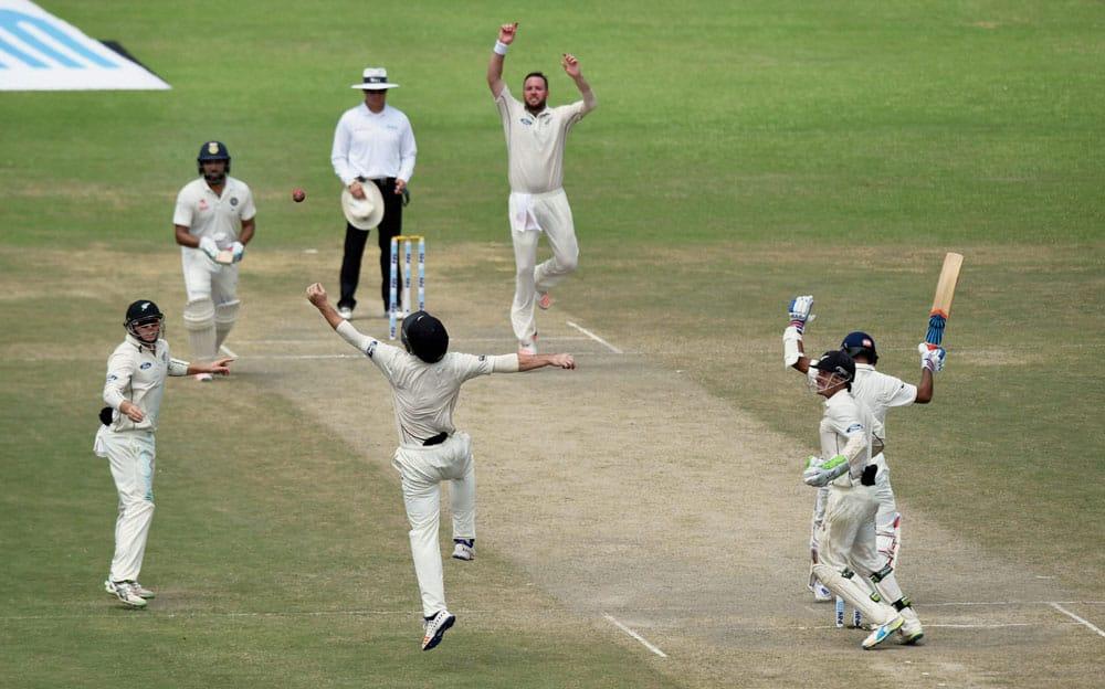 Ind vs NZ First Test Day 4