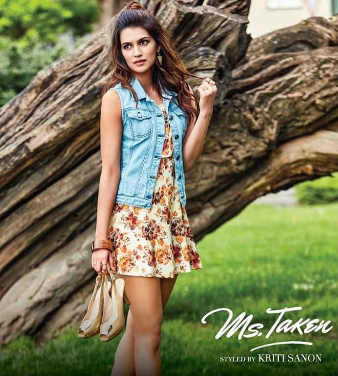 kriti sanon :- Checked out Ms.Taken yet? Available on myntra and shopper's stop..