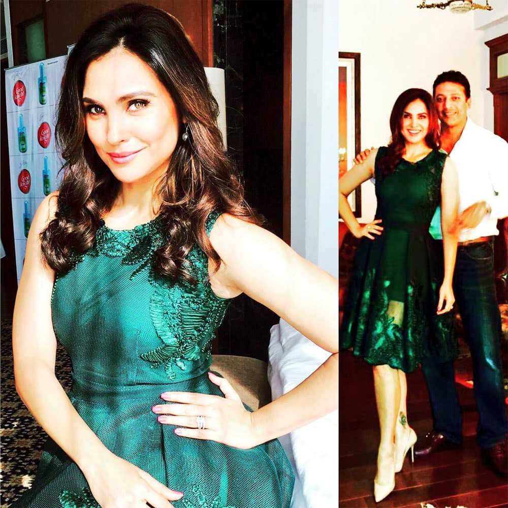 Workday with the husband- Lara Dutta Bhupathi