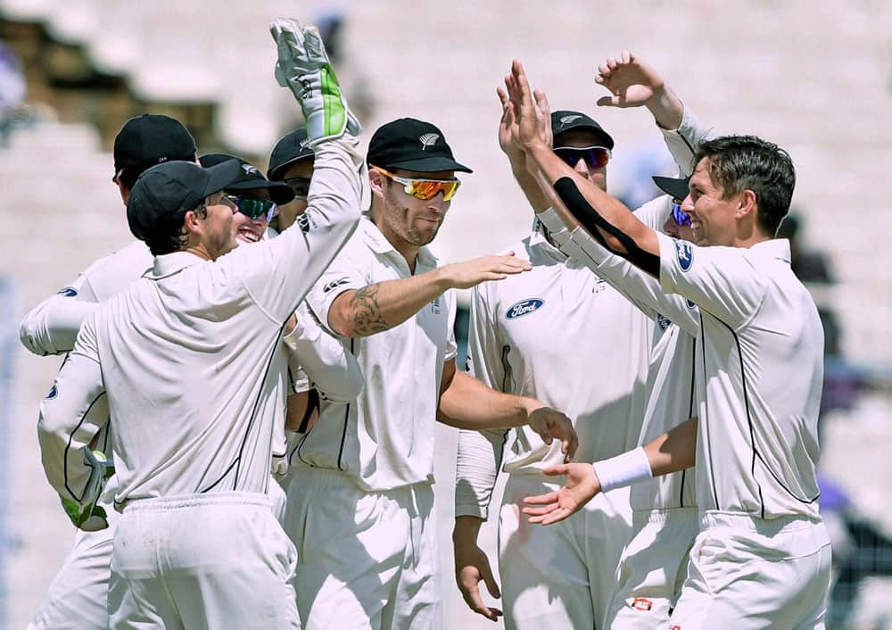 1st day of 2nd Test Match in Kolkata