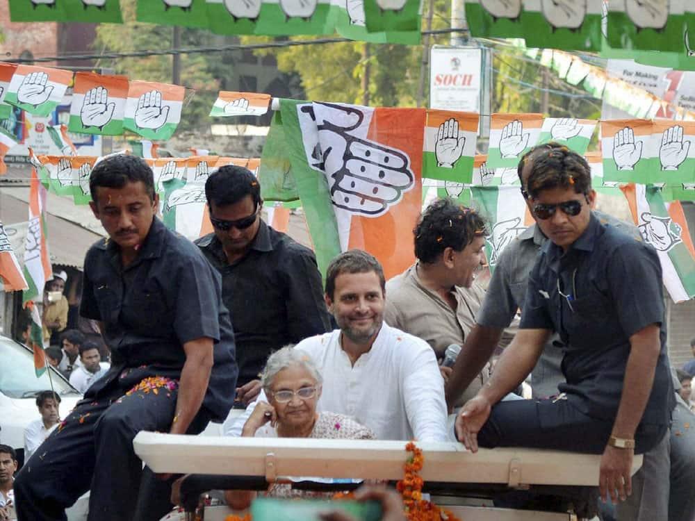 Rahul Gandhi at Road Show