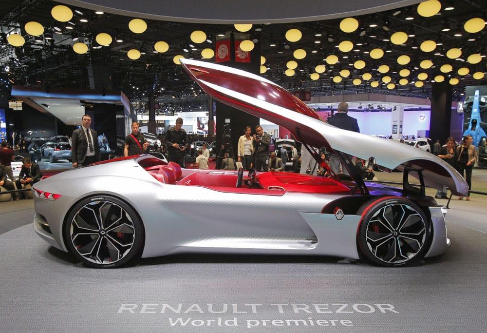 The Renault Trezors