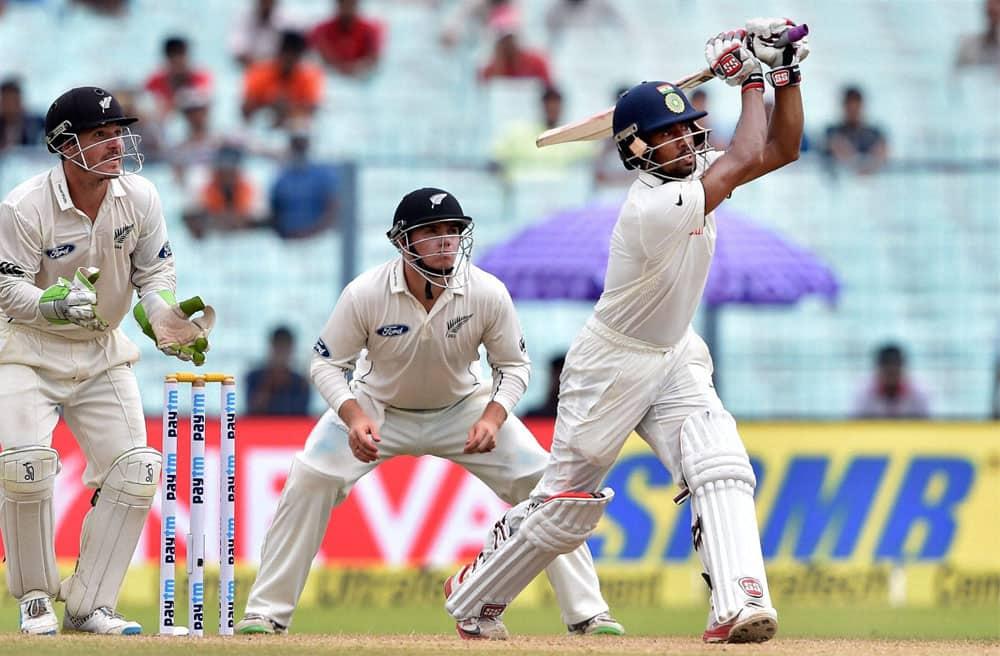 Wriddhiman Saha completes half century