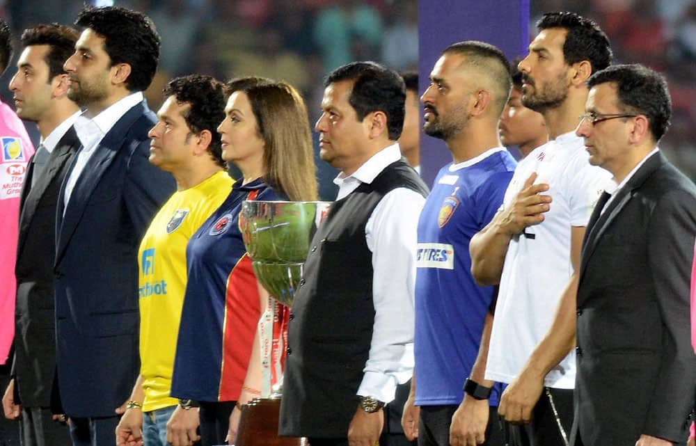 Indian Super League 2016 opening ceremony