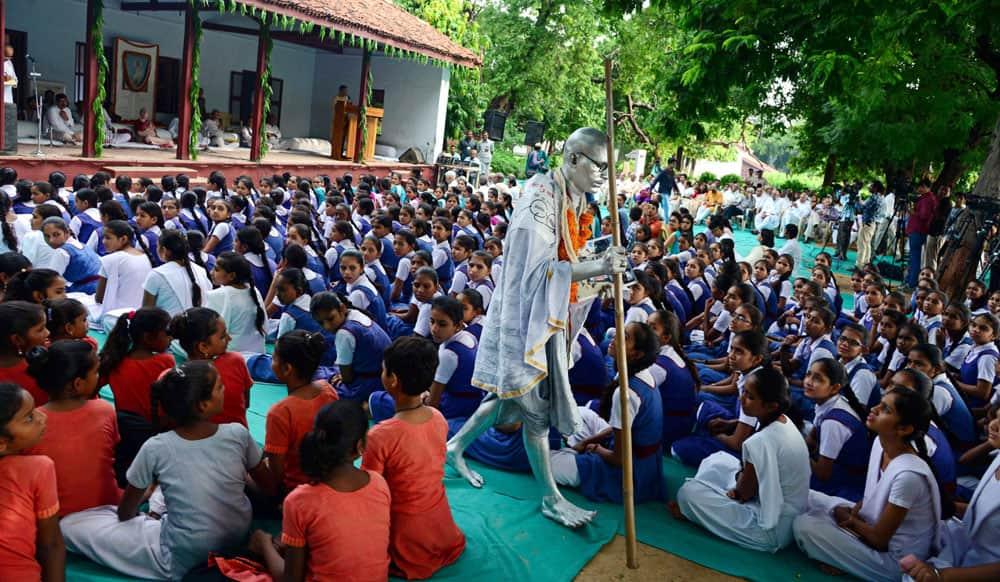 Gandhi Jayanti at Gandhi Ashram