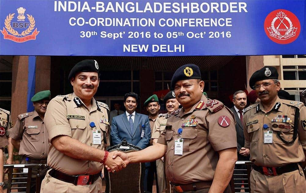 Director General, BSF, K K Sharma