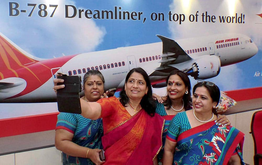 Air India employees