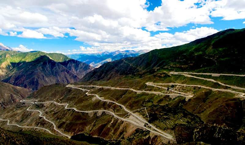 Sichuan-Tibet Highway, China
