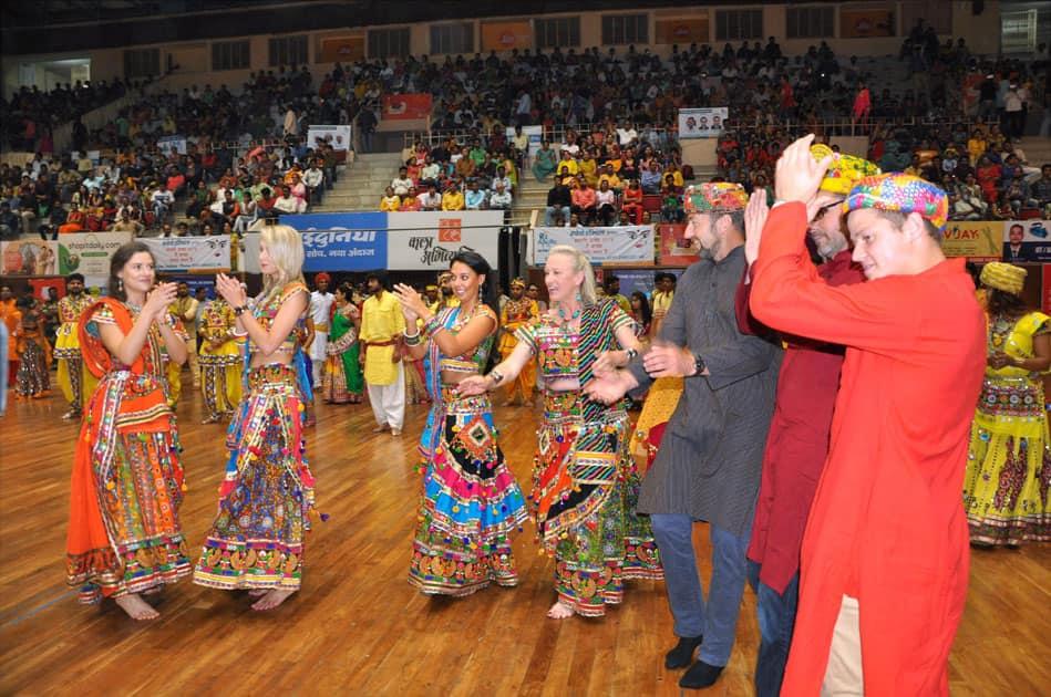 Navratri festival in Indore