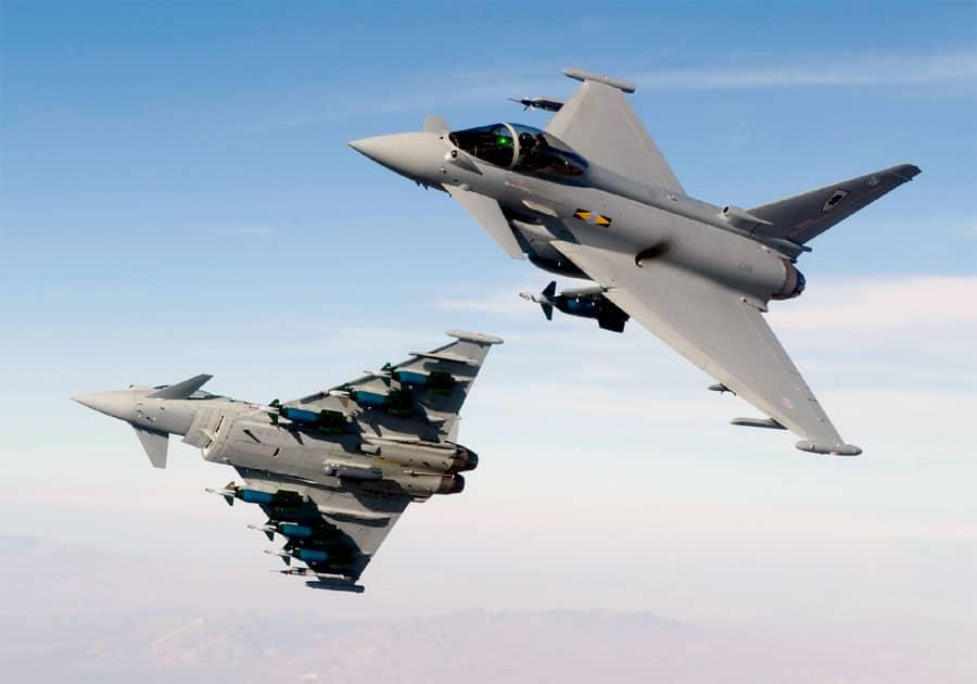 Euro-fighter Typhoon