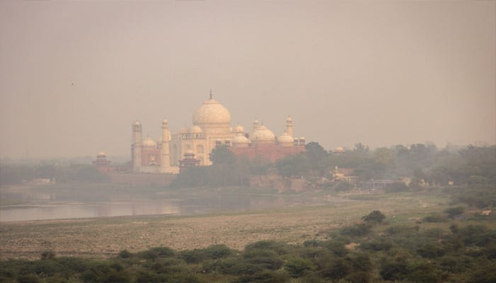 High level open burning of garbage is turning Taj Mahal yellow: Study