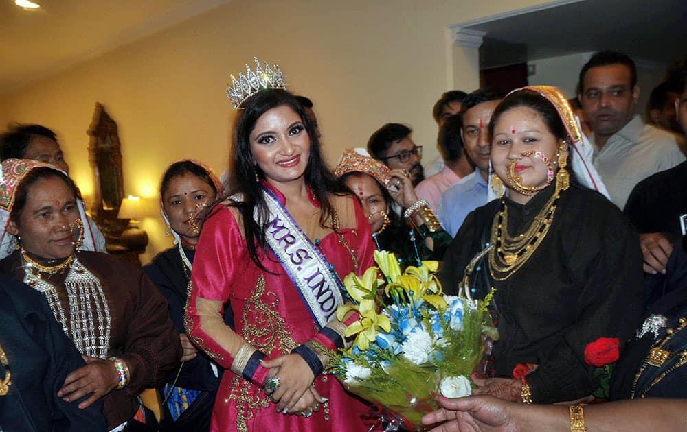 Mrs India International welcomed Dehradun