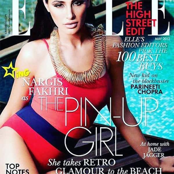 Nargis Fakhri poses for Ellem magazine