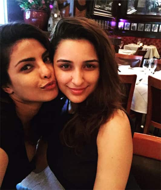 With Her!- Parineeti Chopra