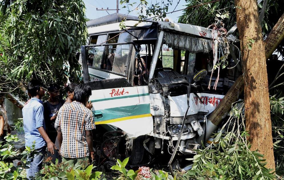 Accident in Guwahati