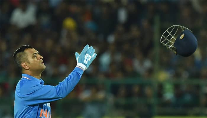 MS Dhoni becomes first ever wicket-keeper to affect 150 stumpings