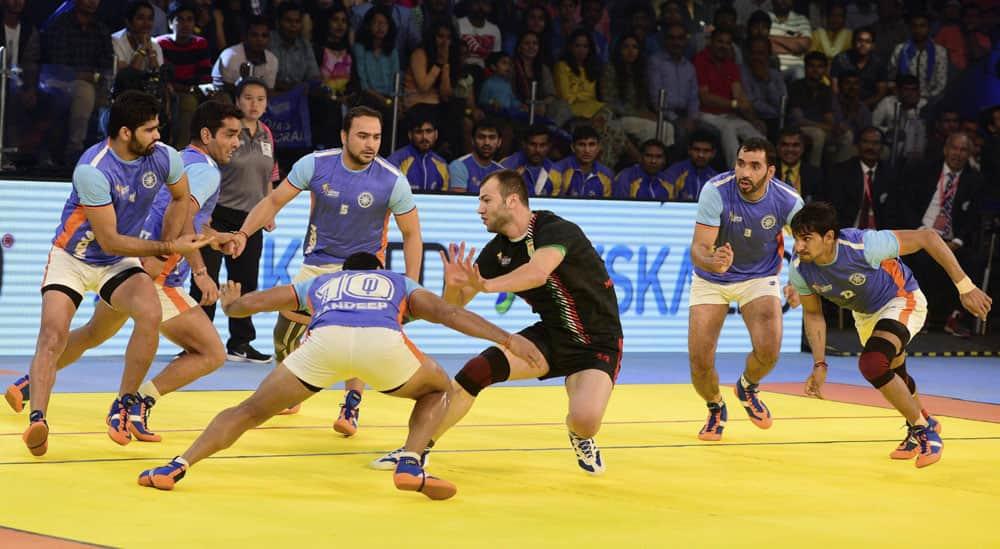 India - Iran final match of ''Kabaddi World Cup 2016