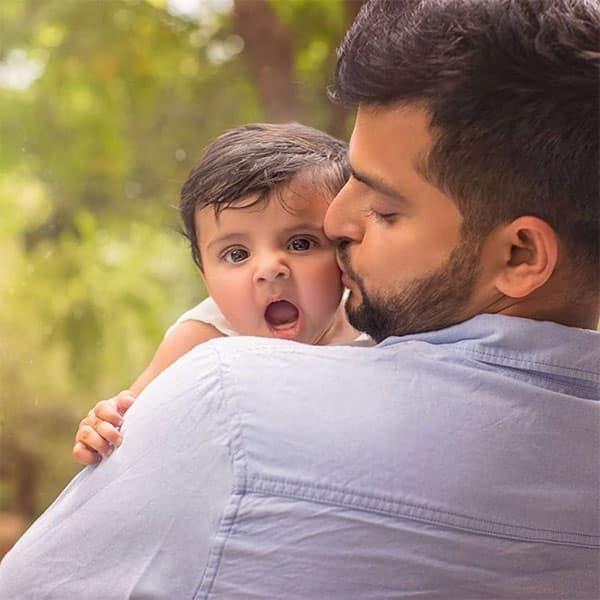 Suresh Raina & His Baby Girl