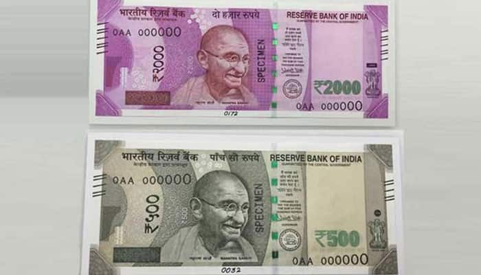 In Pics: This is how your new Rs 500, Rs 2000 notes look like