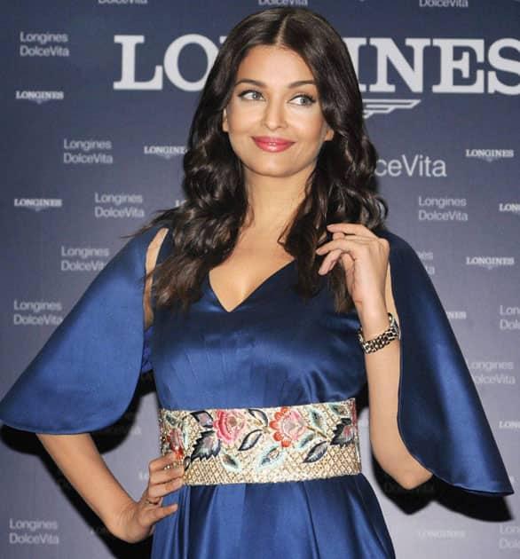Aishwarya Rai Bachchan launch the Longines watch