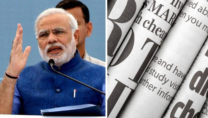 Foreign media hails PM Modi's bold currency move, compares him with Singapore's Lee Kuan Yew