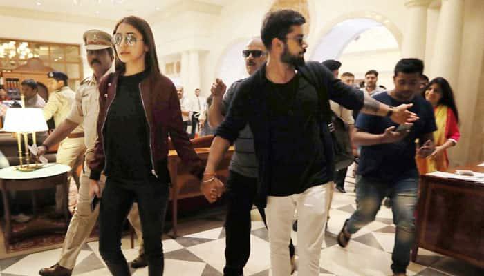 Watch Virat Kohli Drops Off Lady Love Anushka Sharma At