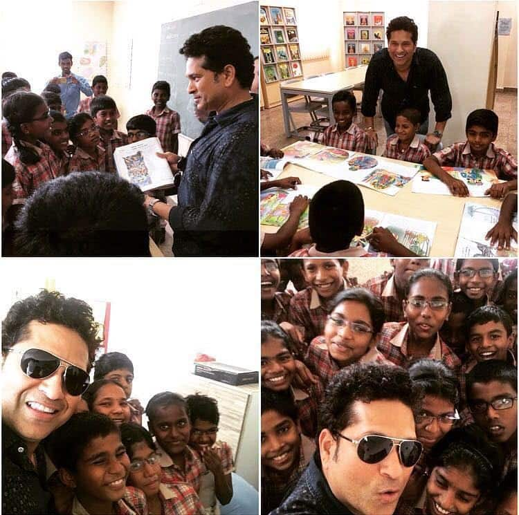 Sachin Tendulkar happy with transformation of adopted village