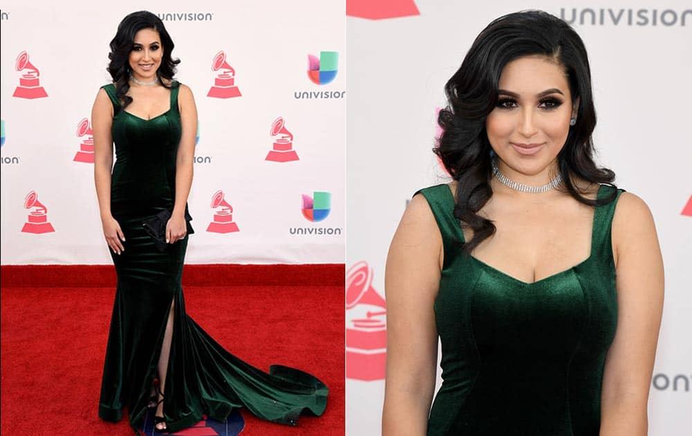 Internet personality Yasmin Maya attends The 17th Annual Latin Grammy Awards