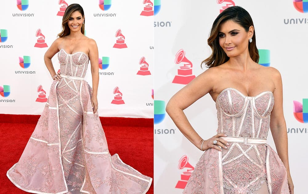 TV personality Chiqui Delgado attends The 17th Annual Latin Grammy Awards