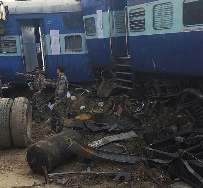 kanpur train derailment